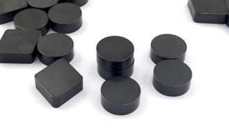 Black Color ZBNS93S Solid PCBN Blanks Multi Shapes Design And Good Weld Ability